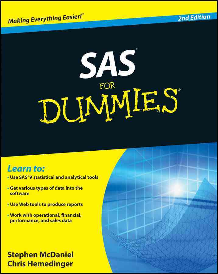 SAS for Dummies By McDaniel, Stephen/ Hemedinger, Chris